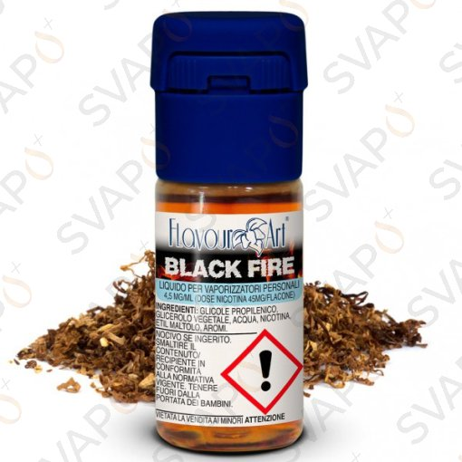 FLAVOURART - BLACK FIRE 10 ML