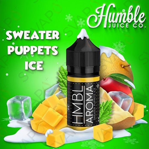 AROMI - AROMI CONCENTRATI 30 ML - HUMBLE JUICE  - SWEATER PUPPETS ICE AROMA CONCENTRATO 30 ML