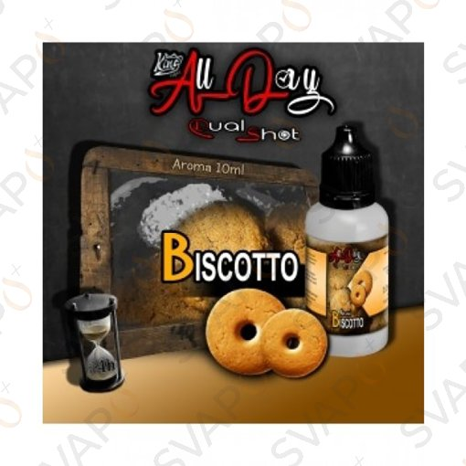 -KING LIQUID - ALL DAY - BISCOTTO Mini Shot 10 ML