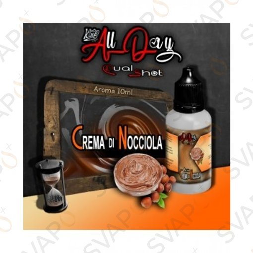 -KING LIQUID - ALL DAY - CREMA DI NOCCIOLA Mini Shot 10 ML