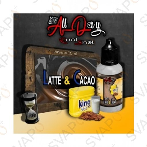 -KING LIQUID - ALL DAY - LATTE & CACAO Mini Shot 10 ML
