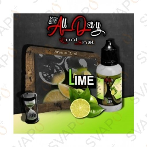 -KING LIQUID - ALL DAY - LIME Mini Shot 10 ML