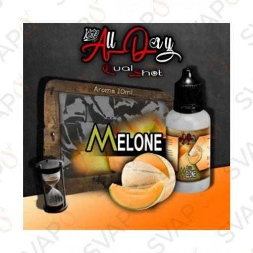 -KING LIQUID - ALL DAY - MELONE Mini Shot 10 ML