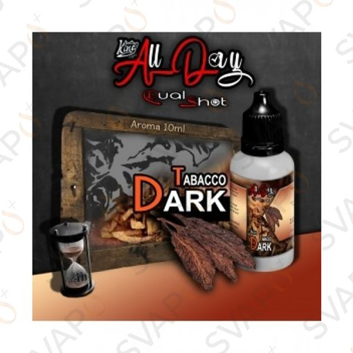 -KING LIQUID - ALL DAY - TABACCO DARK Mini Shot 10 ML