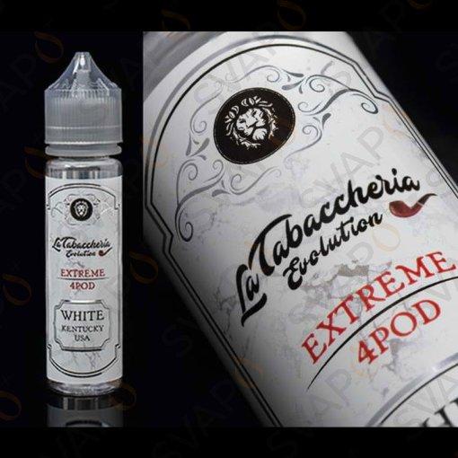 LA TABACCHERIA - EXTREME 4 POD - WHITE KENTUCKY USA Shot Series 20 ML
