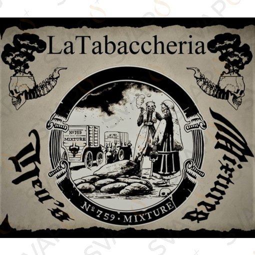 LA TABACCHERIA - HELL'S MIXTURE - ESTRATTO N.759 Aroma Concentrato 10 ML