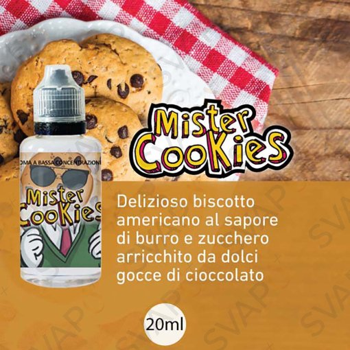 LOP - MISTER COOKIES Aroma Concentrato 20 ML