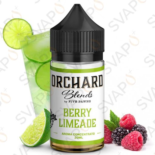 -ORCHARD by FIVE PAWNS - BERRY LIMEADE Shot Series 20 ML