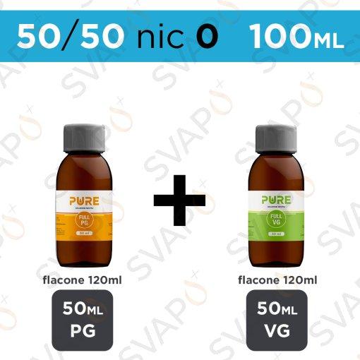 PURE - BASE 100 ML 50/50 - NICOTINA 0