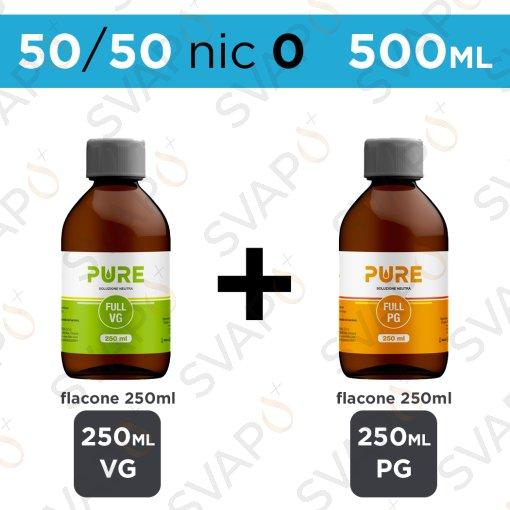 PURE - BASE 500 ML 50/50 - NICOTINA 0