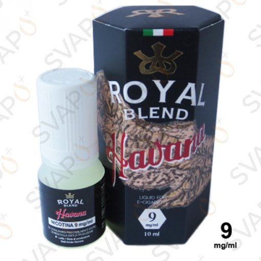 ROYAL BLEND - TOBACCO HAVANA 10 ML