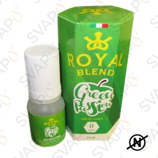 ROYAL BLEND - GREEN PASSION 10 ML