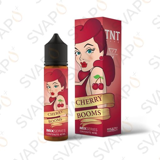 TNT VAPE & SUPREM-E - CHERRY BOOMS Mix Series 40 ML
