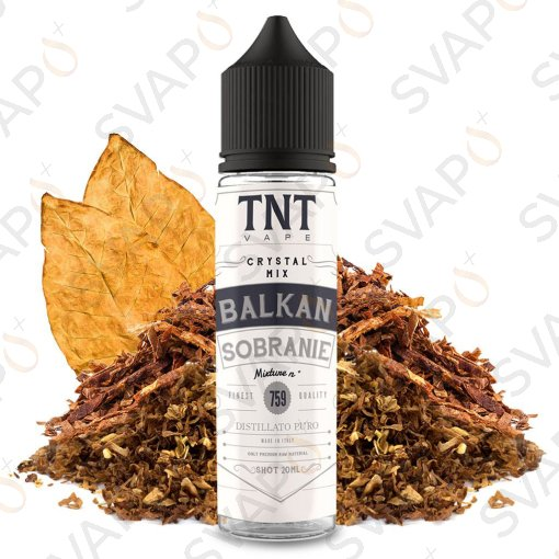TNT VAPE - CRYSTAL MIX - BALKAN SOBRANIE 759 Shot Series 20 ML