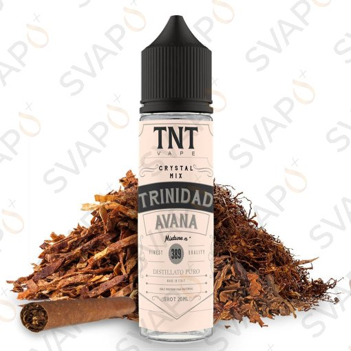 TNT VAPE - CRYSTAL MIX - TRINIDAD AVANA Shot Series 20 ML