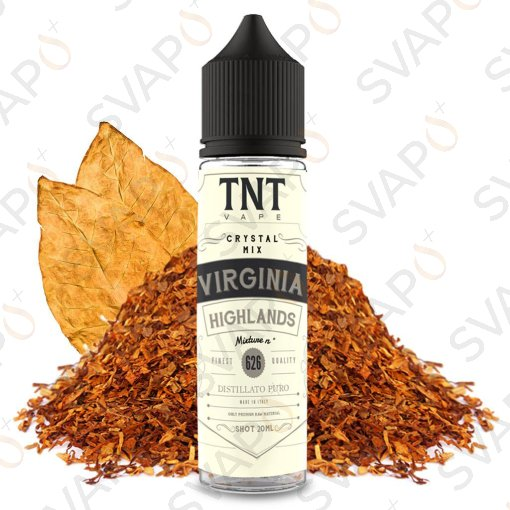TNT VAPE - CRYSTAL MIX - VIRGINIA HIGHLANDS 626 Shot Series 20 ML