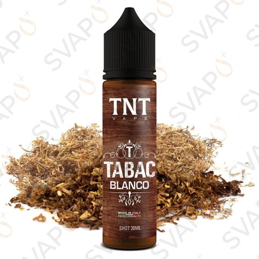 TNT VAPE - TABAC - BLANCO Shot series 20 ML