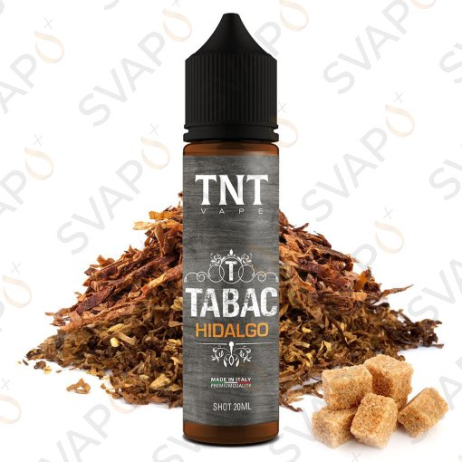 TNT VAPE - TABAC - HIDALGO  Shot series 20 ML