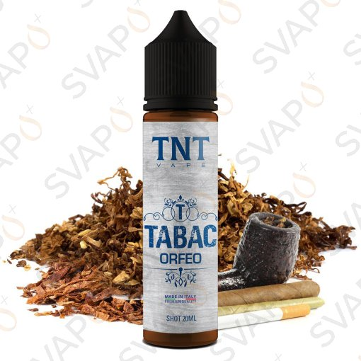 TNT VAPE - TABAC - ORFEO  Shot series 20 ML