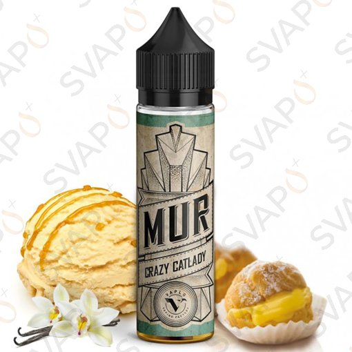 -VAPLO - MUR - CRAZY CAT LADY Shot Series 20 ML
