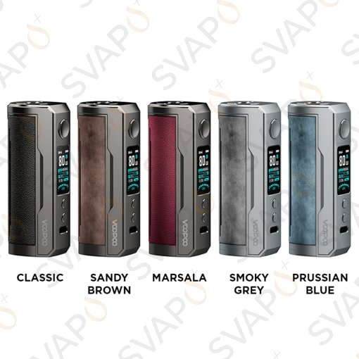 VOOPOO - DRAG X PLUS Box Mod