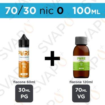 PURE - BASE 100 ML 70/30 - NICOTINA 0