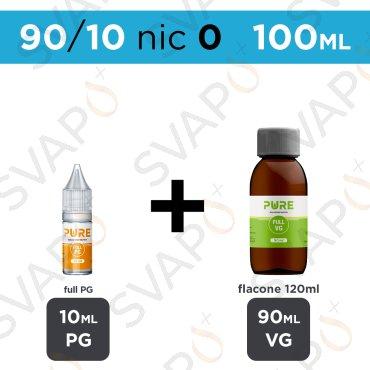 PURE - BASE 100 ML 90/10 - NICOTINA 0