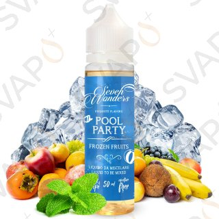 VAPORART - SEVEN WONDERS - POOLPARTY Mix Series 50 ML