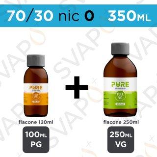PURE - BASE 350 ML 70/30 - NICOTINA 0