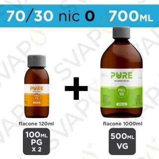 PURE - BASE 700 ML 70/30 - NICOTINA 0