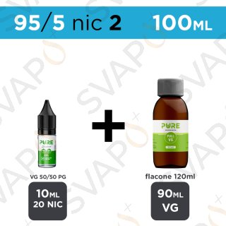 PURE - BASE 100 ML 95/5 - NICOTINA 2